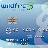Picture of a Wildfire Business Visa with an EMV Chip